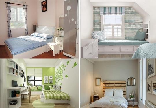Cách thiết kế giúp phòng ngủ nhỏ trở nên rộng và thoáng hơn
