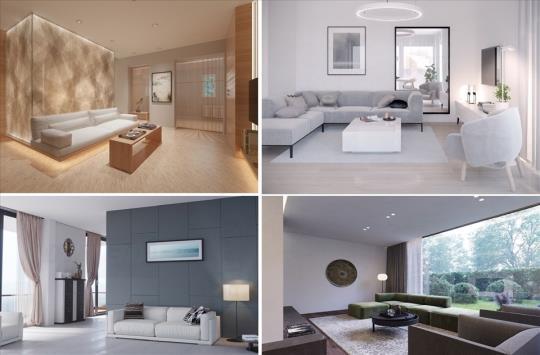 Kinh nghiệm thiết kế phòng khách tối giản không nên bỏ lỡ