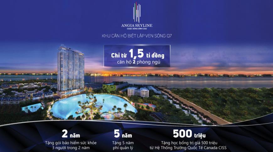 Căn hộ An Gia Skyline, Quận 7, TP Hồ Chí Minh