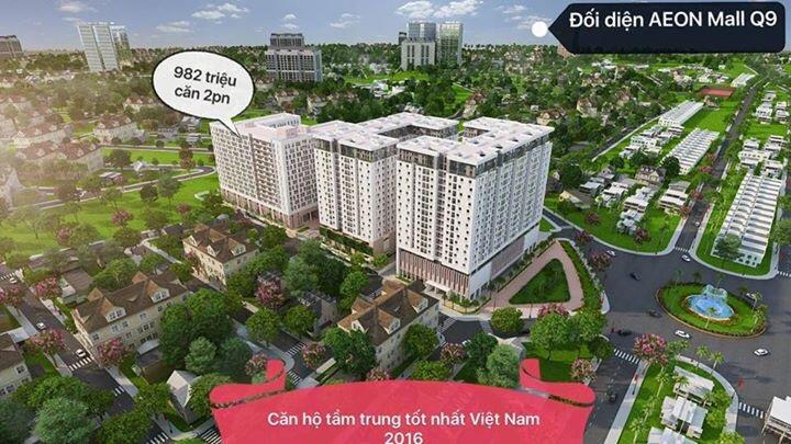 Căn Hộ Hàn Quốc Sun Tower, Quận 9, TP Hồ Chí Minh