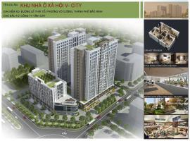 Khu nhà ở xã hội V- City, TP Bắc Ninh