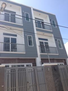 Bán nhà mới xây 2 lầu thới an 08 vào 1 xẹc lê thị riêng q.12