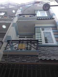 Bán nhà 2 lầu sổ hồng chung đường nguyễn ảnh thủ quận 12