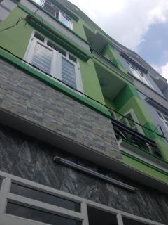 Bán nhà nhỏ 2 lầu đường 3 m ht 13 p.hiệp thành quận 12