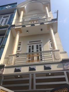 Bán nhà sh riêng 2 lầu đường 8 m thông lê văn khương q.12