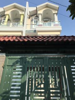 Bán nhà phố 3 lầu đường nhựa 6 m lê văn khường p.hiệp thành
