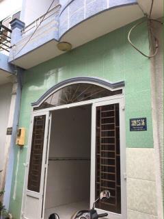 Bán nhà nhỏ đường thông 3 m đường nội bộ lê văn khương p.ht