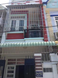 Bán nhà 1 lầu sổ hồng chung 3 căn đường 3 m 1 sẹc tth 21 q12