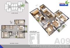 Bán suất ngoại giao căn 09 tòa thanh xuân complex, 36 tr/m2
