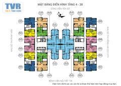 Cần bán căn 03, căn góc 2 mặt thoáng, 66,7m, 18,8 tr/m2