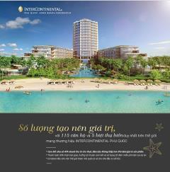Intercontinental - căn hộ hạng sang chuẩn quốc tế