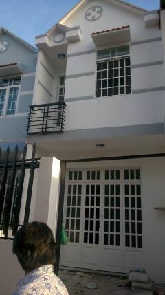 Nhà 1 lầu, 3pn,2wc,sổ hồng riêng,75m,860  triệu,