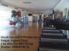 Bán penthouse saigon airport plaza tặng 78.85 m2 sân vườn