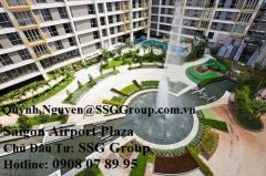 Chính chủ cần bán ch saigon airport plaza view sân vườn