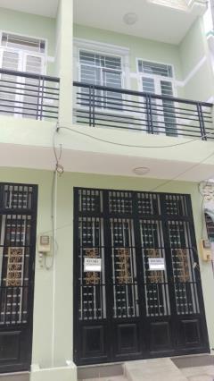Bán nhà hẻm 7m đúc 1 tấm đường lê văn lương ,sổ hồng 2016