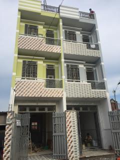 Bán nhà đúc 2 lầu sổ hồng riêng dtsd  100m2 giá 1.45 tỷ .