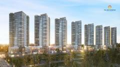 Officetel the sun avenue,lợi nhuận cho thuê 8-10%/năm
