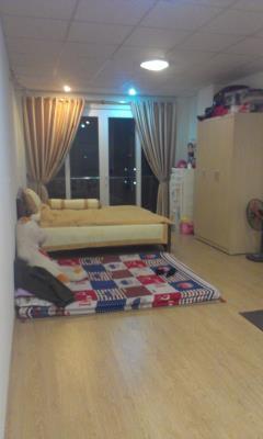 Cho thuê chung cư 1p.ngủ+1p.khách đủ đồ phố tôn thất tùng