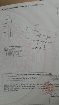 Cần bán đất nguyễn thị định quận 2, 2.4 tỷ