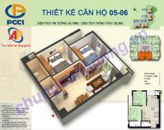 Bán căn hộ 2 phòng ngủ chung cư pcc1 complex hà đông