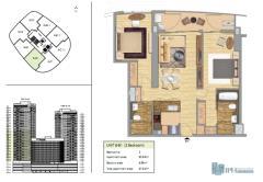Bán căn hộ chung cư indochina plaza 2 phòng ngủ sổ đỏ