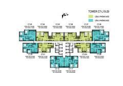 Nhượng căn 04-c7 d'capital trần duy hưng 2 phòng ngủ giá tốt