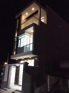 Nhà phố 3 tầng rất đẹp nhà bè, 144m2, kdc an ninh