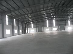 Cho thuê kho xưởng mặt đường 32, đan phượng, dt 1000m2
