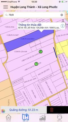 Đất tại long thành đã có sổ chỉ với 3 triệu / m2
