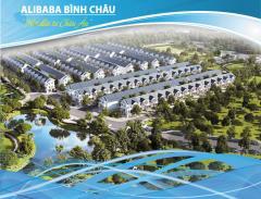 Khu dân cư alibaba bình châu. chỉ 230tr/100m2 mặc tiền ql 55