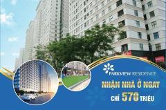 Parkview residence  nhận nhà trước tết - vay lãi 0%
