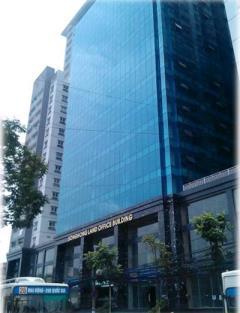 Cho thuê văn phòng tòa nhà sông hồng 165 thái hà, dt: 65m2,