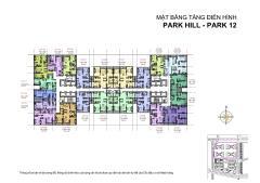 Bán căn 93,5m 03pn tòa park 12 full nội thất. 4,2 tỷ
