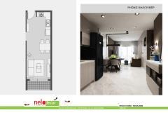 Cần bán căn hộ 85m2 2pn ngay trung tâm quận 5  quận 6