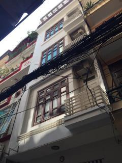 Cho thuê nhà riêng ngõ 12 đỗ quang, 55 m2 x 5 tầng