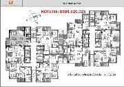 Bán chung cư n07b1 dịch vọng căn 92m và 133m, vào ở ngày