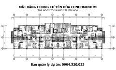 Mở bán chung cư 259 yên hòa, quận cầu giấy, lh: 0904.520.025