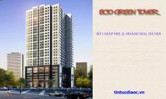 Mở bán chung cư eco green tower số 1 giáp nhị giá rẻ