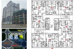Bán căn góc 124m2 số 07 chung cư n02t2 ngoại giao đoàn