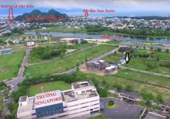 Bán đất xây biệt ven sông  gần trường quốc tế đà nẵng, cạnh
