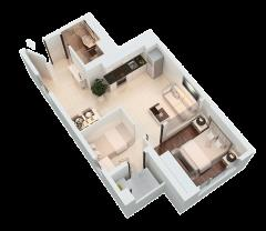 Cho thuê căn hộ the park residence (phú hoàng anh 2) chỉ 5.5