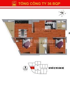 Chính chủ bán lại căn hộ 1609 ct36 định công dt 63m2 giá rẻ
