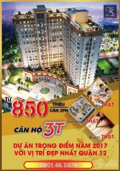 Mở bán căn hộ cao cấp tô ký tower-giá chỉ: 850triệu/căn