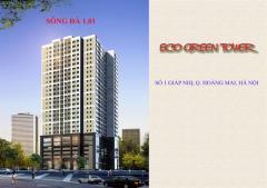 Bán căn góc chung cư eco green tower -số 1 giáp nhị,hướng đn