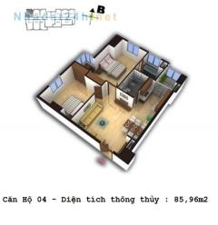 Cần bán các căn hộ 2 và 3 ngủ dự án số 4 chính kinh gía rẻ