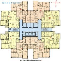 Bán gấp căn hộ 152m2 căn góc cc29t1 n05 hoàng đạo thúy