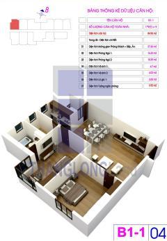 Cần tiền bán gấp căn hộ 1604 căn góc dự án sapphire palace