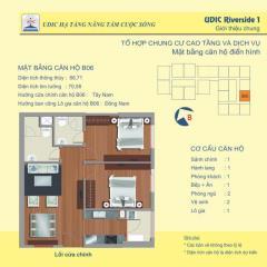 Bán căn số 06 tòa b chung cư 122 vĩnh tuy  udic riverside.