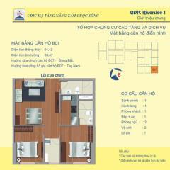Bán căn góc số 07 tầng 11 chung cư 122 vĩnh tuy-udic