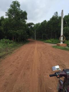 Bán đất có 300m2 thổ cư, 2 mặt tiền đường xã long phước